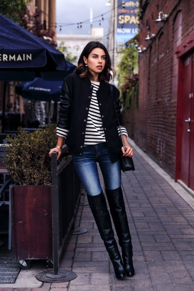 Image result for over the knee boots outfits