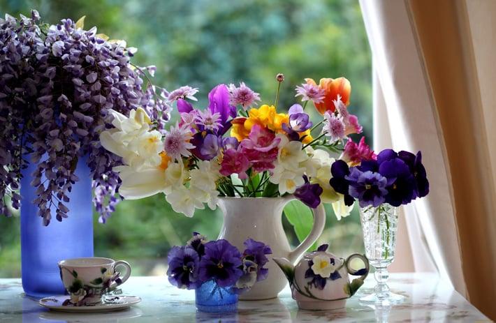 Image result for Giữ hoa tươi lâu