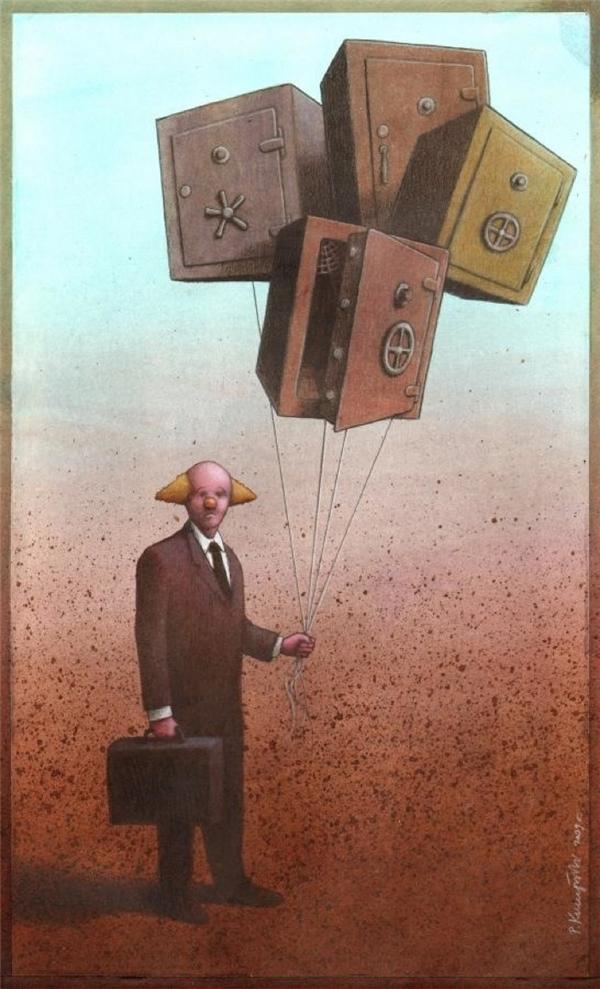 Cho dù có cất kĩ đến đâu, tiền bạc vẫn rất dễ bay hơi trong tay kẻ ngốc.