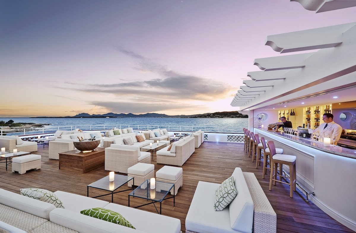 3. Hotel du Cap-Eden-Roc — Antibes, France. This exclusive luxury hotel perched in Cap d