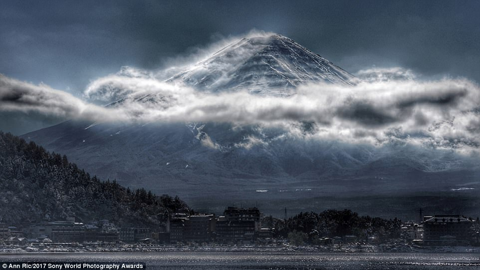 This stunning image of Mount Fuji taken by Malaysian Ann Ric is simply described by the photographer as