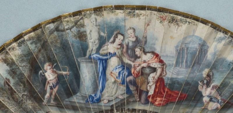 Quạt châu Âu thế kỷ 18, 19: Những tuyệt phẩm không nỡ dùng để quạt...