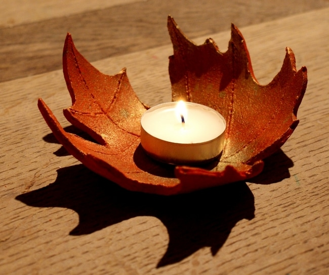 Image result for air dry clay leaf bowls