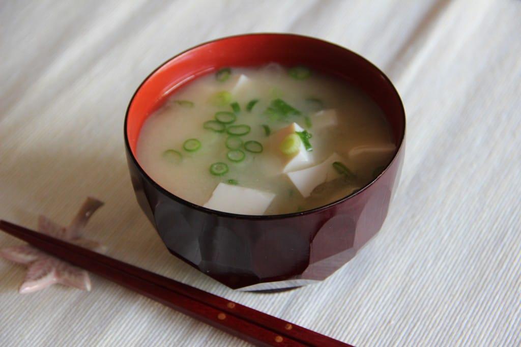 miso soup, súp miso