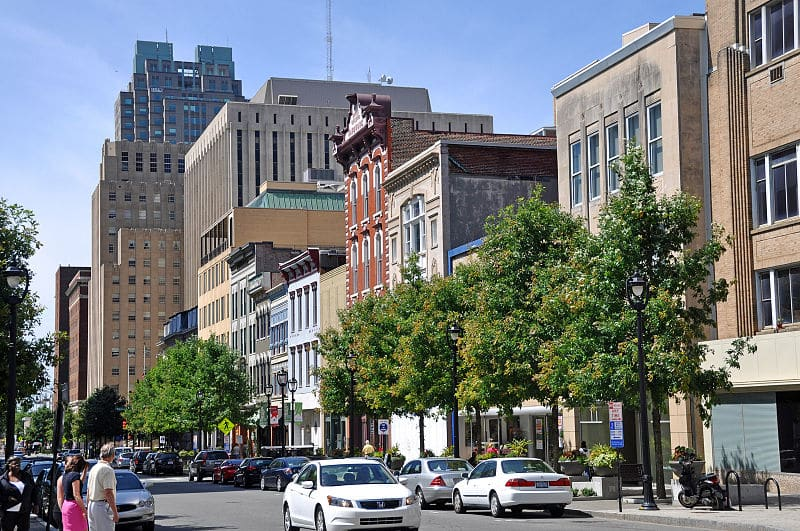File:Fayetteville Street in downtown Raleigh, North Carolina.jpg