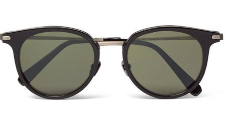 Mắt kính gọng tròn từ nhãn hiệu cao cấp Brioni - Giá tham khảo 925USD. (Ảnh: MrPorter)