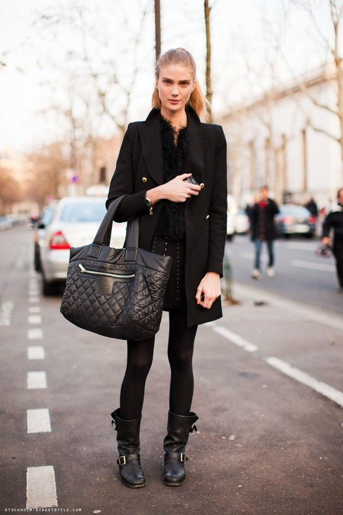 Image result for biker boots street style