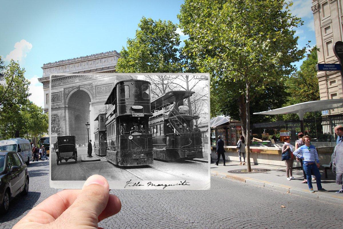 Arc de Triomphe, 1909