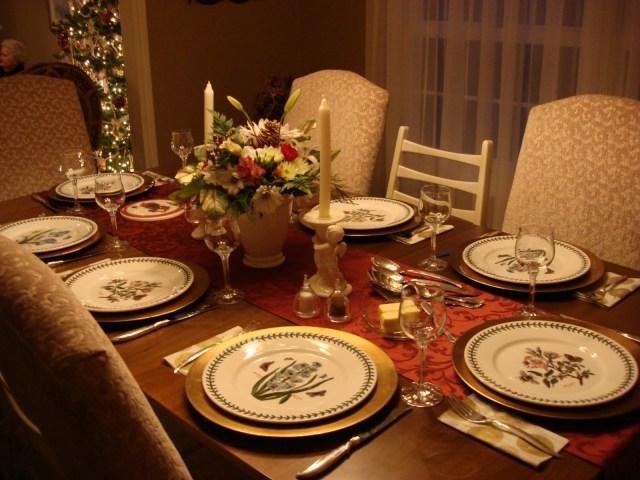 Image result for table arrangements for dinner