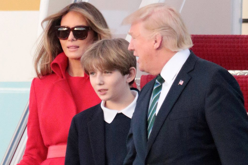 con trai út của tổng thống Donald Trump, Barron Trump