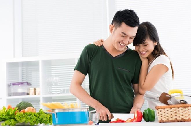 bí quyết khỏe mạnh, Vợ chồng hòa thuận