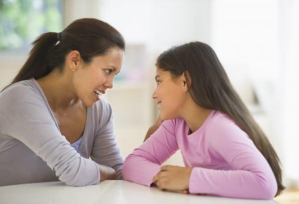 Lời nói của cha mẹ có ảnh hưởng to lớn đối với con