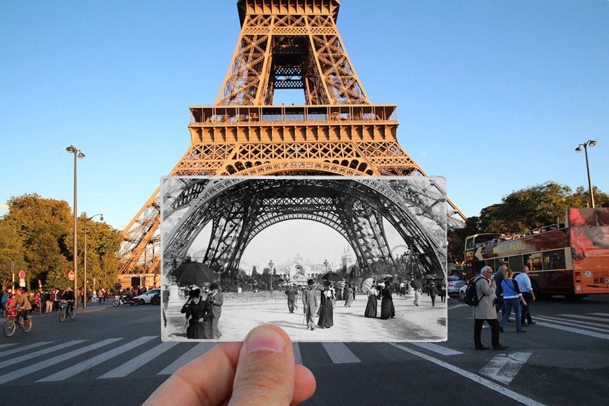 Eiffel Tower, 1900