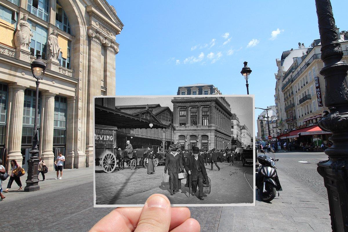 Gare du Nord —August 1914
