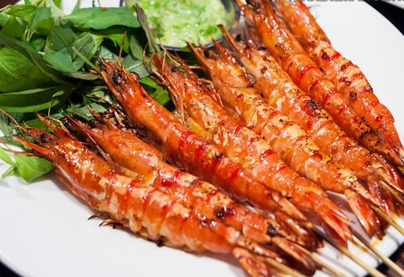 tôm nướng, Làm thế nào để nướng cá hồi và tôm mà không bị dính vào vỉ?