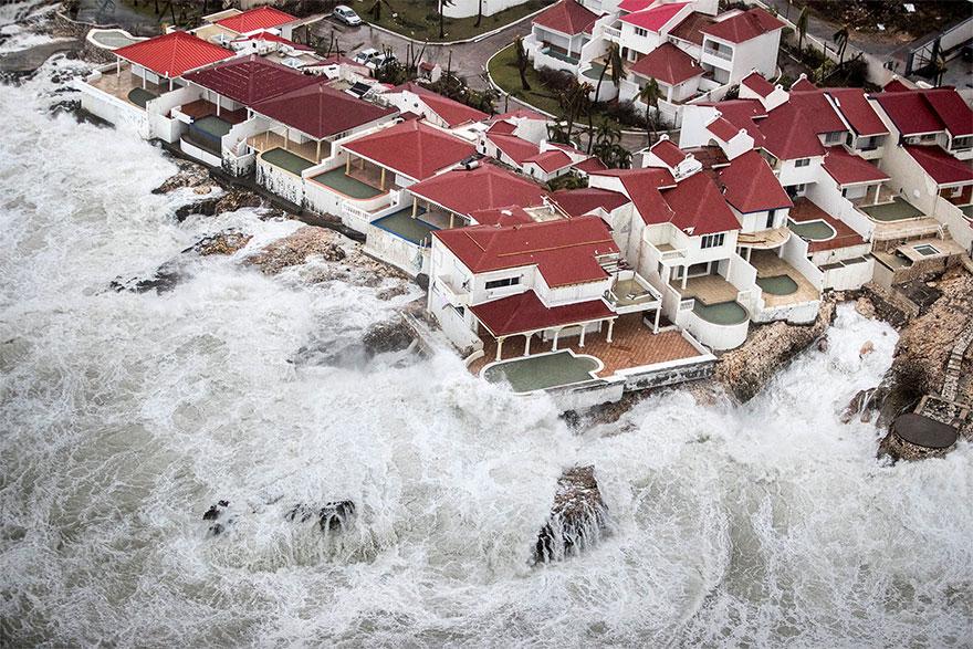 The Aftermath Of Hurricane Irma On Saint Martin
