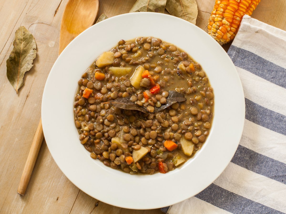 Italy: lentils