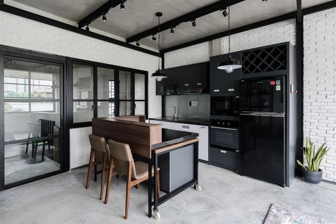 Nhà phố đẹp 110 m2 ở quận 8, TP. HCM (10)