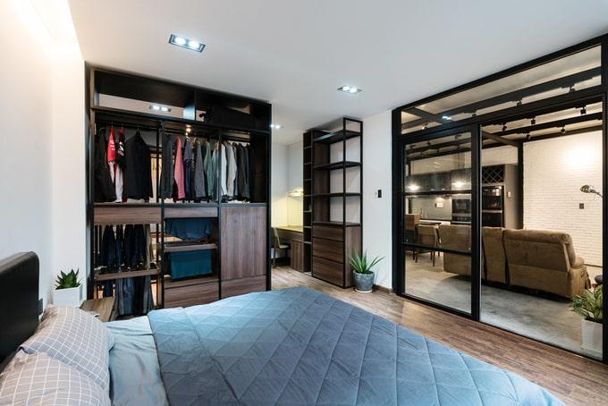 Nhà phố đẹp 110 m2 ở quận 8, TP. HCM (11)