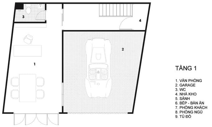 Nhà phố đẹp 110 m2 ở quận 8, TP. HCM (12)
