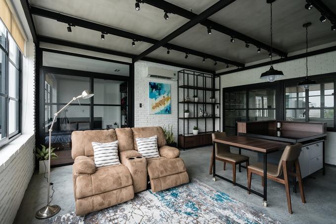 Nhà phố đẹp 110 m2 ở quận 8, TP. HCM (7)