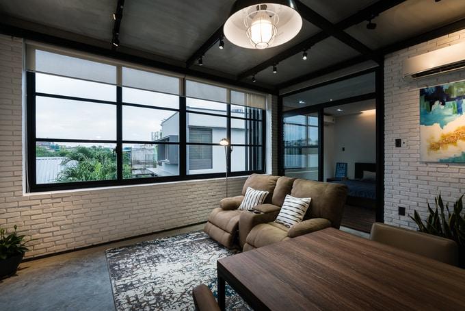Nhà phố đẹp 110 m2 ở quận 8, TP. HCM (8)