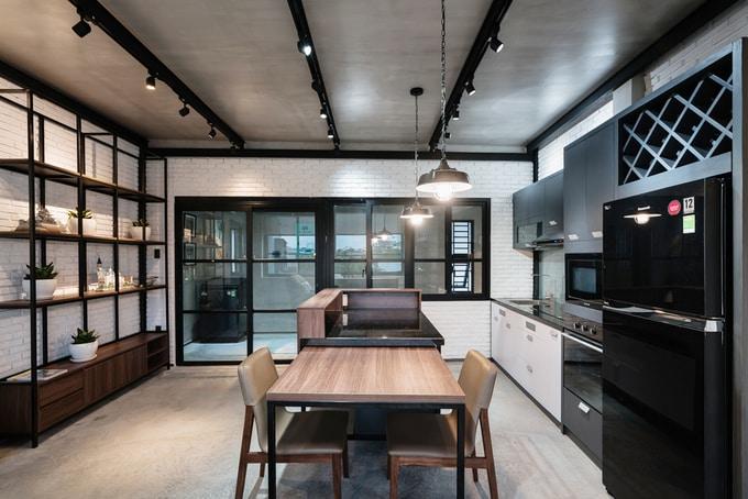 Nhà phố đẹp 110 m2 ở quận 8, TP. HCM (9)