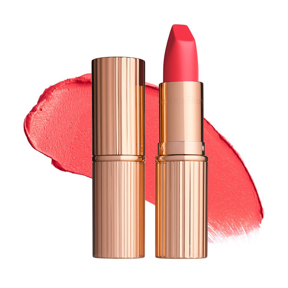 Image result for Charlotte Tilbury Matte Revolution Lipstick in Lost Cherry