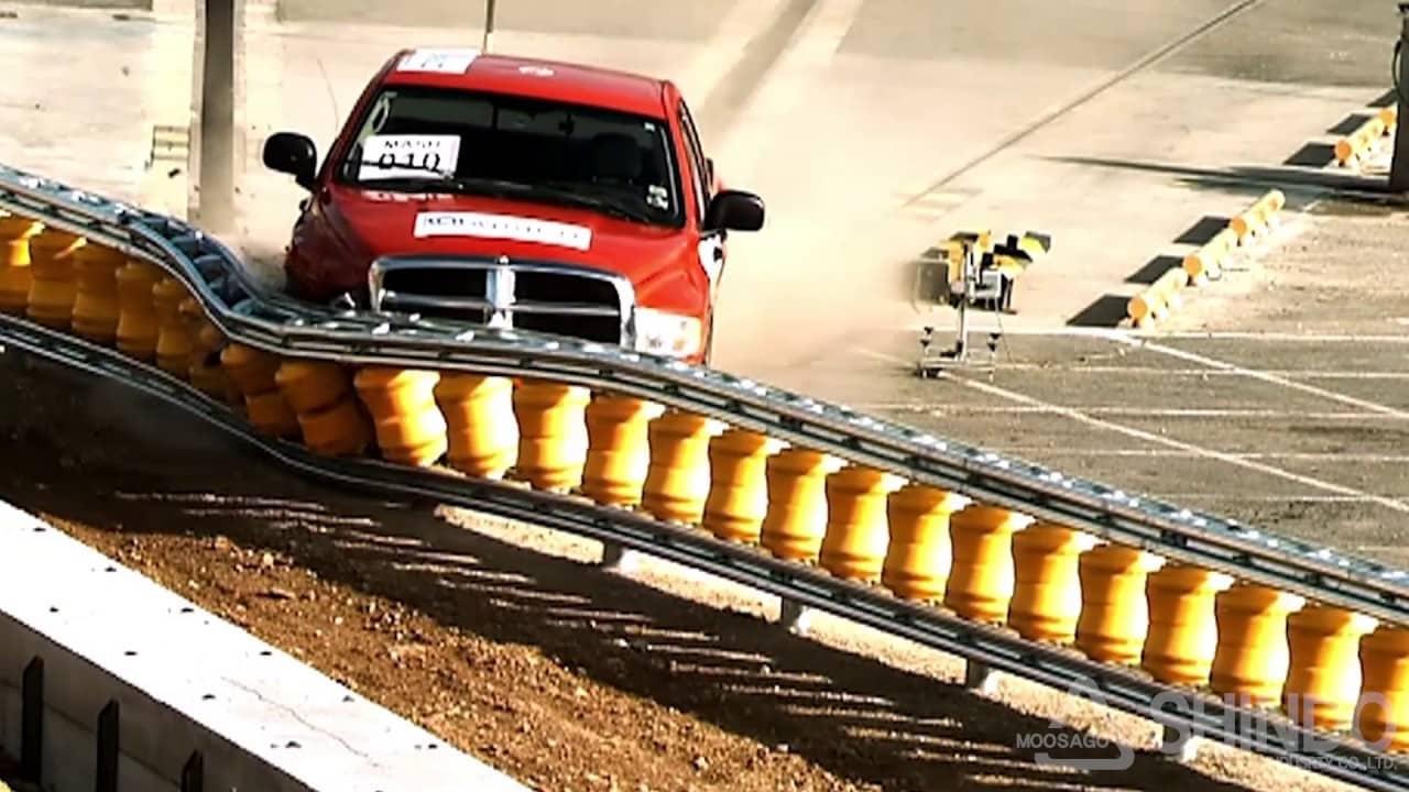 Lan can chắn này có thể cứu mạng người bị tai nạn giao thông