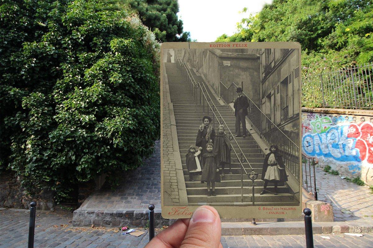 Rue du Calvaire, Montmarte—c. 1900