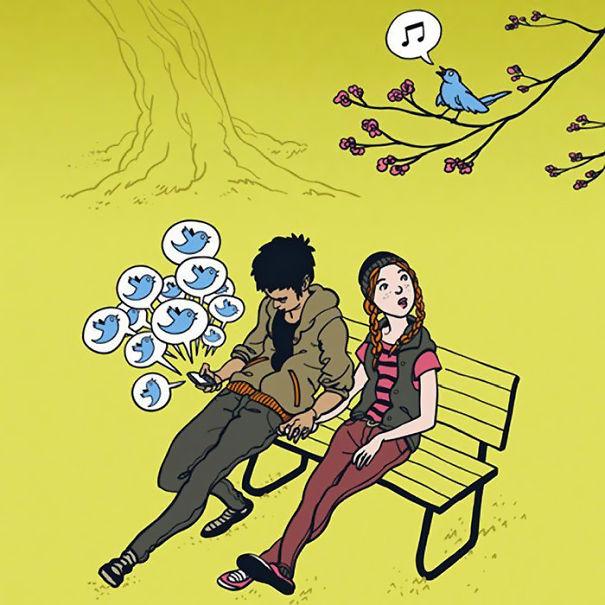 Satirical Illustrations