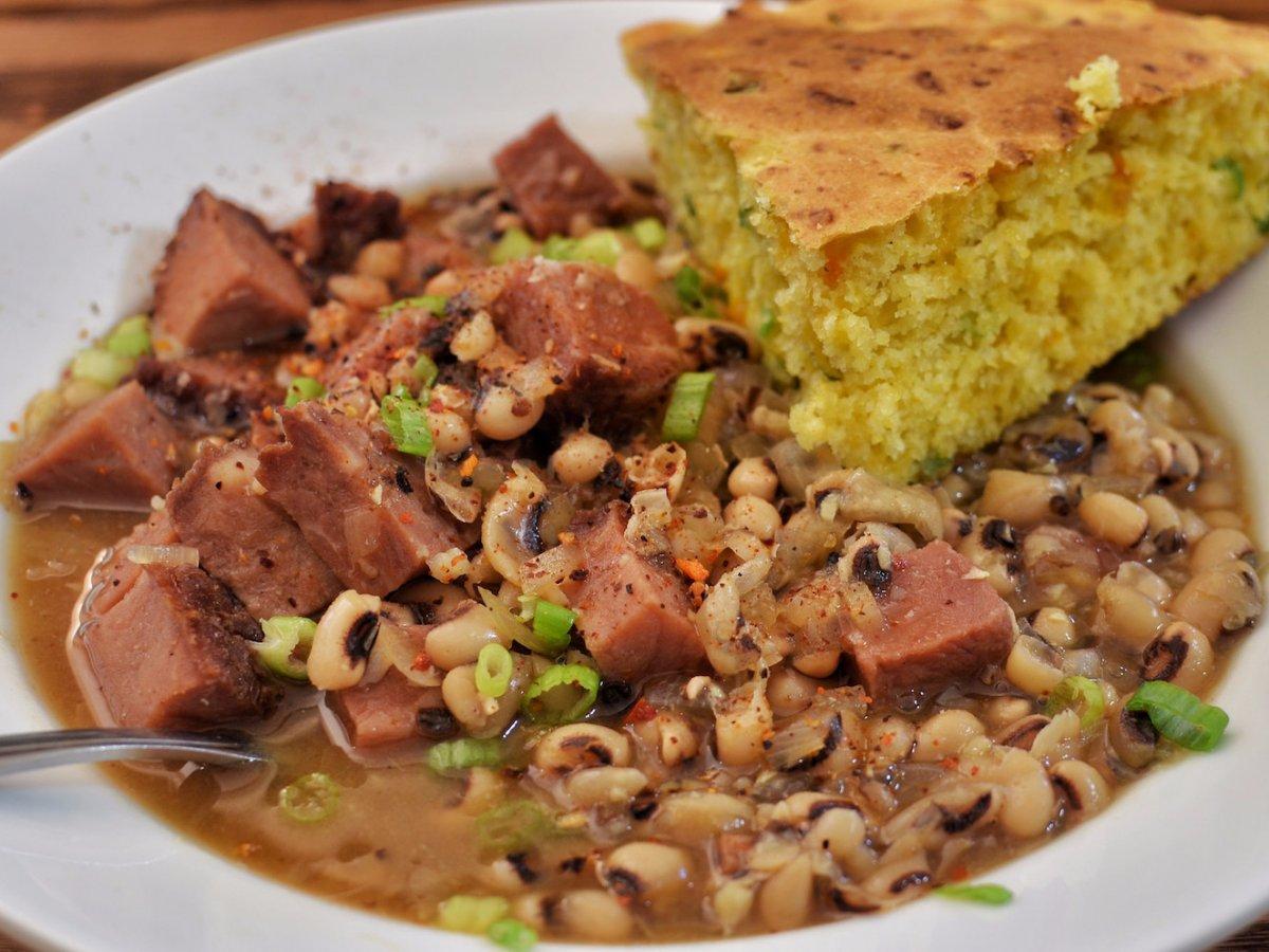Southern US: black eyed peas