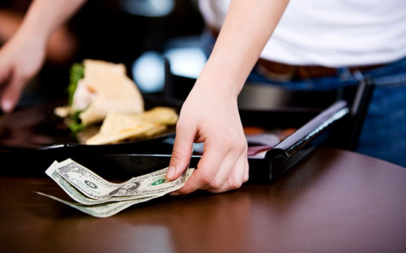 tipping server