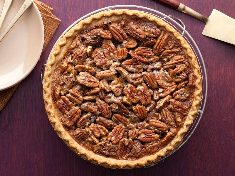 Chocolate Pecan Pie; Paula Deen