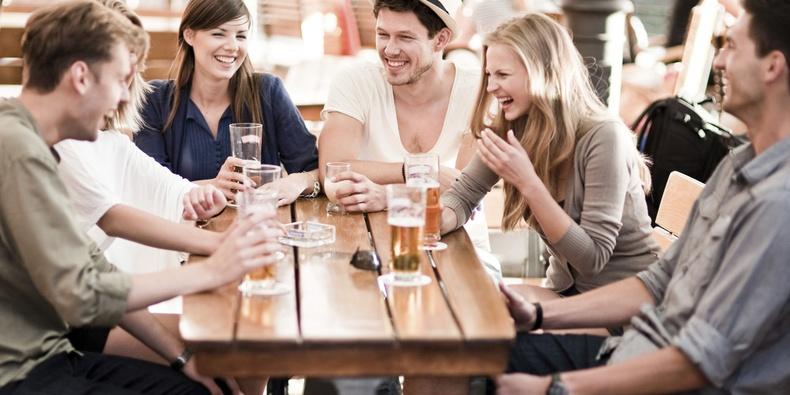 Kết quả hình ảnh cho group of friends talking