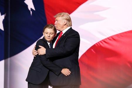 Kết quả hình ảnh cho Barron trump