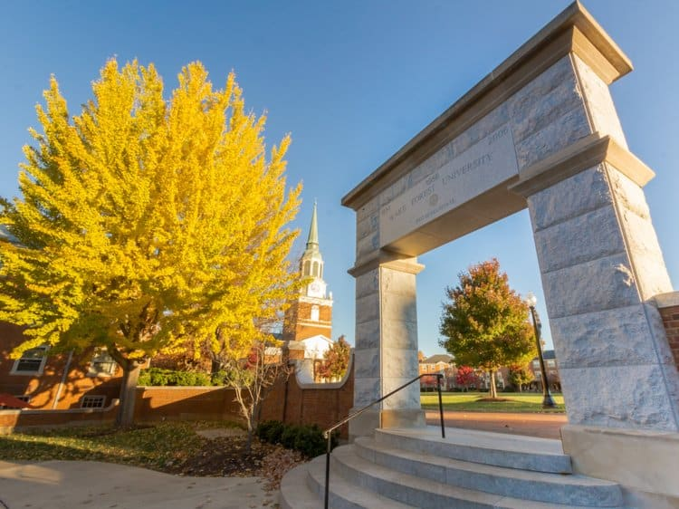 Wake Forest University – Winston-Salem, North Carolina
