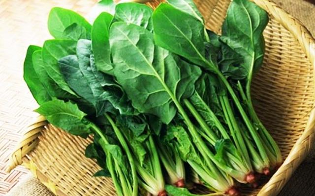 thực phẩm không nên ăn cùng với bí ngô cải bó xôi