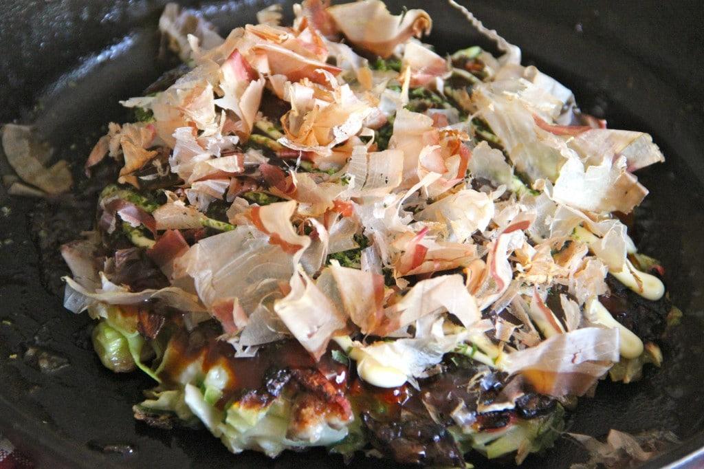 okonomiyaki, bánh xèo Nhật