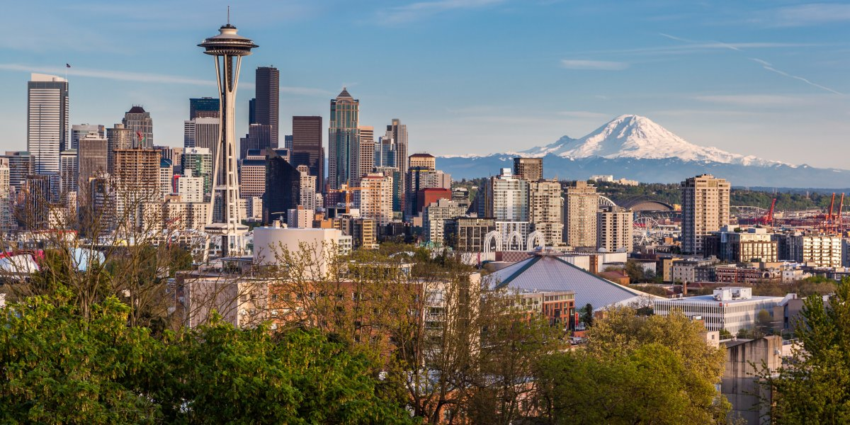 7. Seattle, Washington — 20%