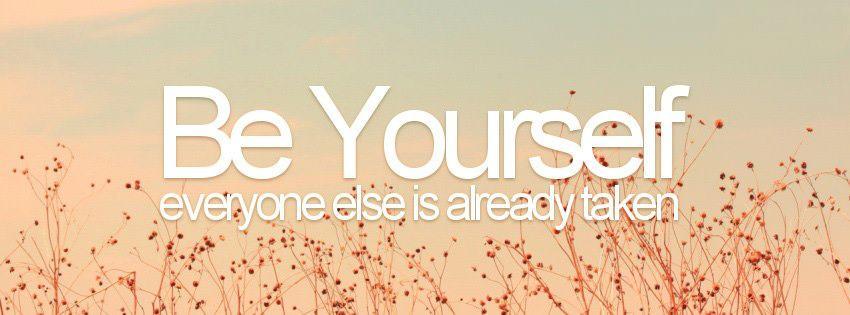 Kết quả hình ảnh cho be yourself