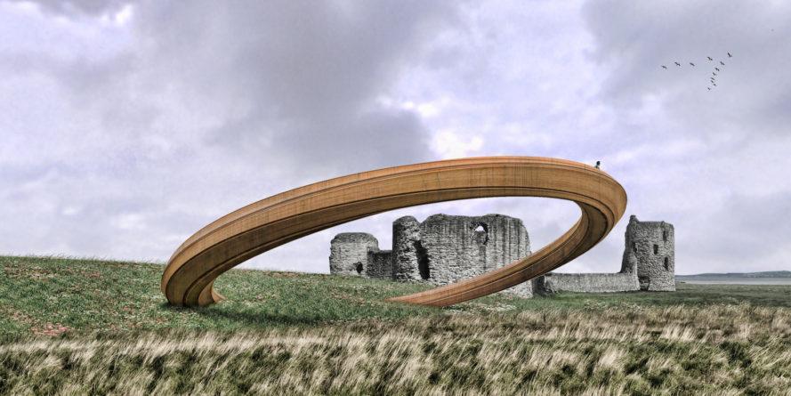 Vòng sắt của George King Architects, giành giải thưởng Huyền thoại của năm ở xứ Wales