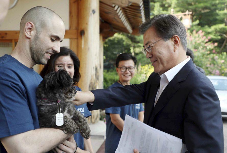 cún cưng, tân Tổng thống Hàn Quốc