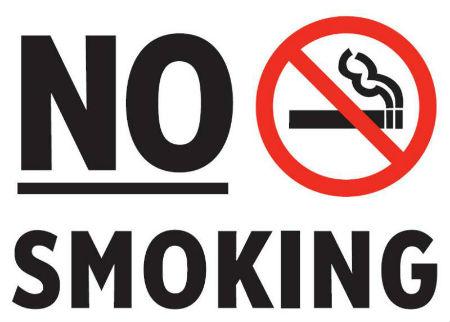 cấm hút thuốc