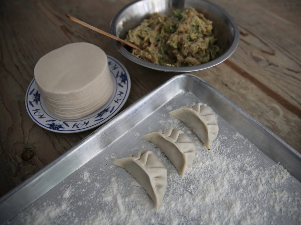 China: jiaozi (dumplings)