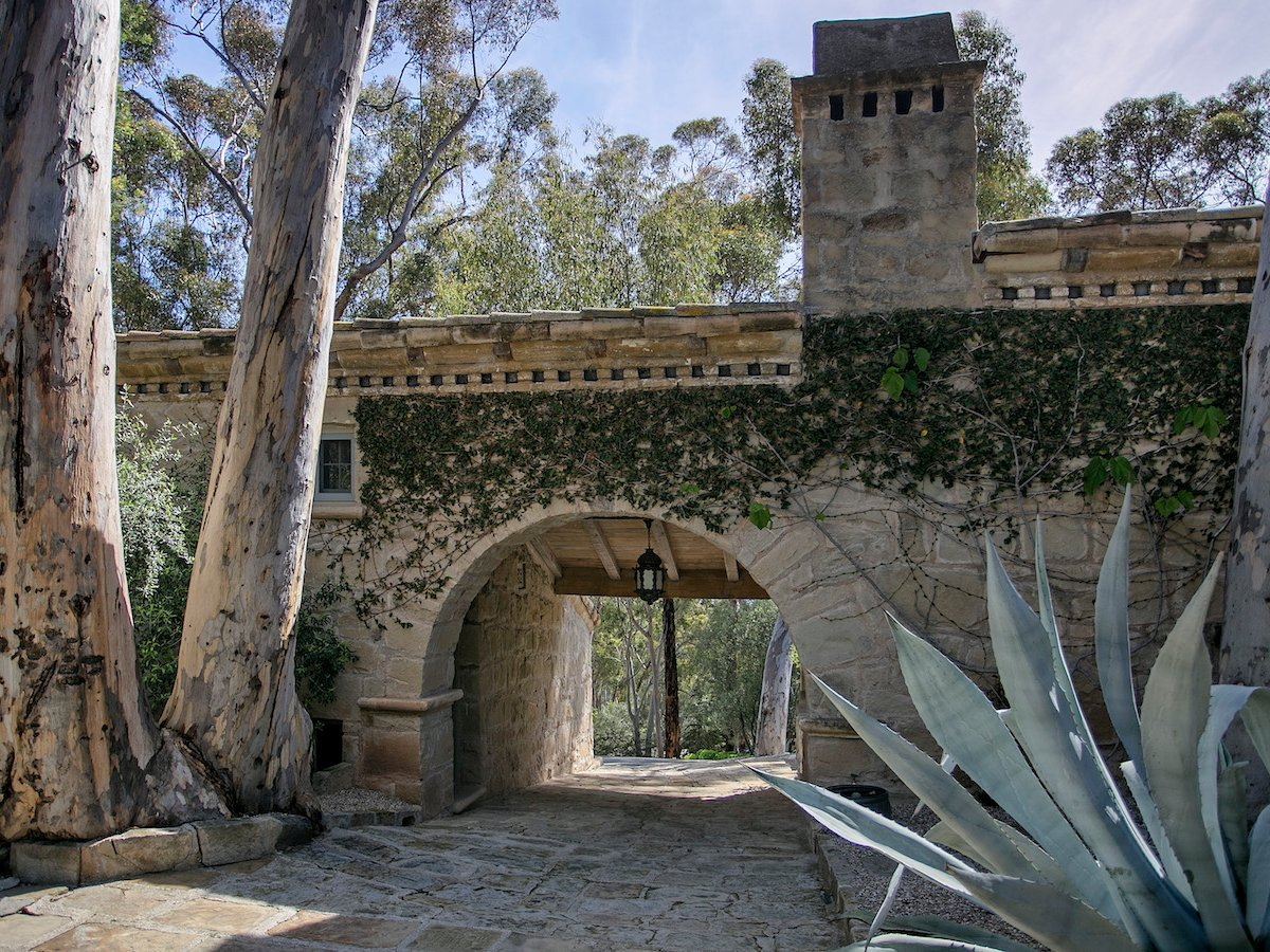 DeGeneres and de Rossi bought the estate for .5 million in 2012. It was designed by architect Wallace Frost in the 1930s, and its classical style is still intact.