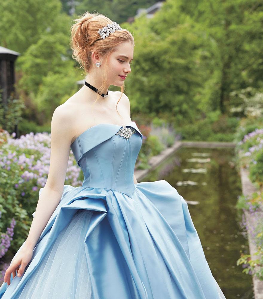 Cinderella, váy cưới công chúa