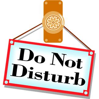 "Image result for ""Do Not Disturb"""