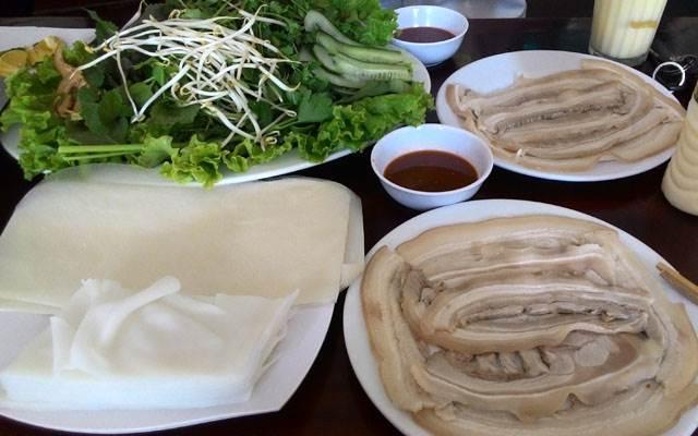 Kết quả hình ảnh cho bánh tráng thịt heo đà nẵng