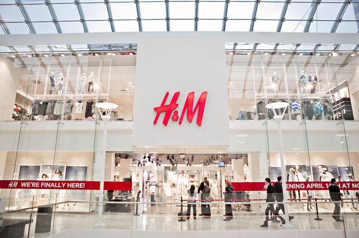 thời trang bán lẻ H&M